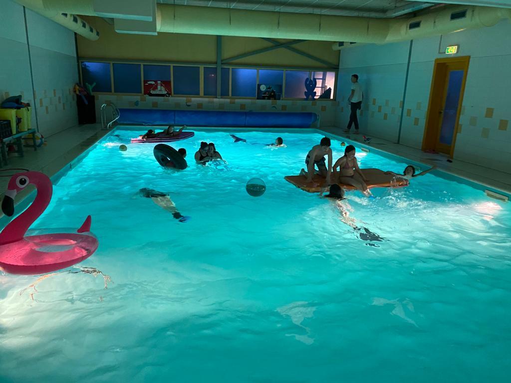 zwemfeestjes of doop